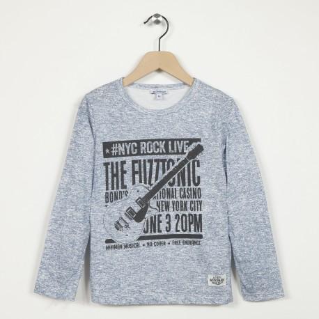 T-shirt manches longues imprimé
