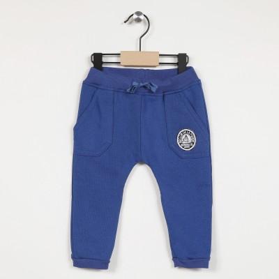 Pantalon molleton avec taille élastiquée