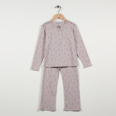 Pyjama 2 pièces en maille