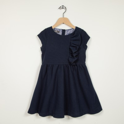 Robe manches courtes patineuse