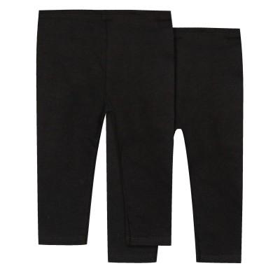 Lot de 2 leggings noirs