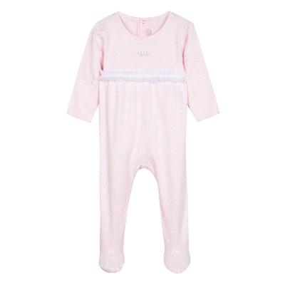 Pyjama à pieds en coton