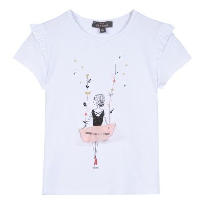 T-shirt manches courtes danseuse classique