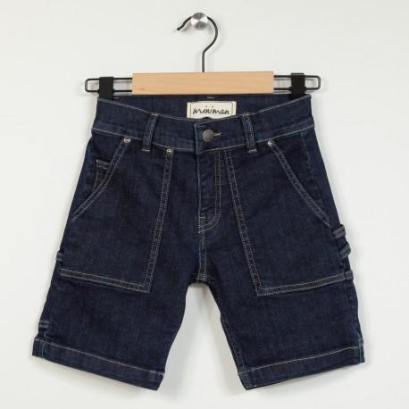 Bermuda en jean avec poches