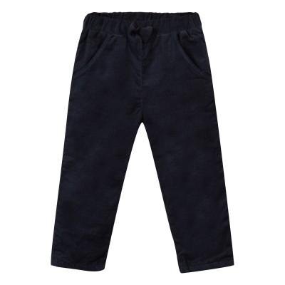 Pantalon en velours à taille élastique